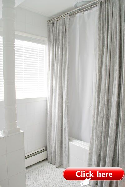 Bathroom Mini Makeover 2019 Unique Shower Curtain Diy Shower