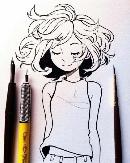Trendy Drawing Hair Easy Sketch Ideas Sketches Drawings Art Inspiration