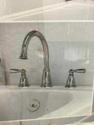 Moen Banbury 2 Handle Deck Mount Roman Tub Faucet Trim Valves