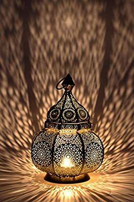 Orientalische Eisenlaterne Marokkanische Laterne Schmiedeeisen Orient H120 cm