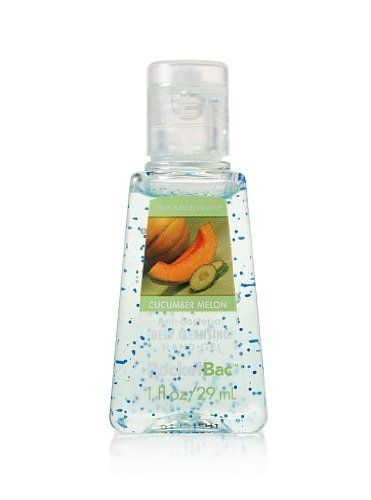 Bath Body Works Cucumber Melon Pocketbac Hand Gel By Bath Body
