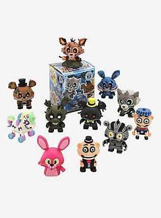 FUNKO MYSTERY MINI Five Nights At Freddys Twisted Ones /& Sister Location