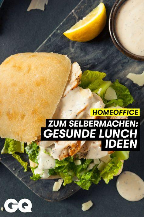 Lunch-Time im Homeoffice: Gesunde Lunch- und Snackideen