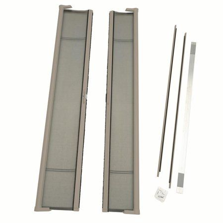 Odl Brisa Tall Double Door Single Pack Retractable Screen For 96 Inch In Swing Or Out Swing Door Retractable Screen Door Retractable Screen Double Screen Doors