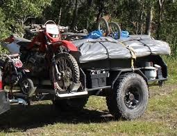 Camp Trailer With Mx Bike Carrier Expedition Portal