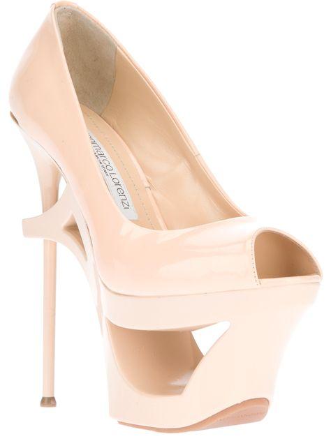 Shoes GIANMARCO LORENZI Platform Stiletto Pump  c169413246c