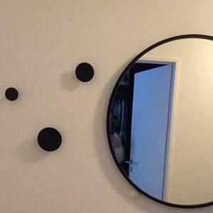 Modern Round Wall Hooks Scandinavian Design Black Wall Hook