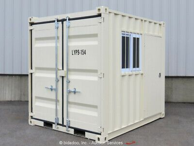 Ad Ebay Url Suihe 9 Shipping Storage Container Guard Yard Shack Booth W Door Windows And Doors Locker Storage Storage