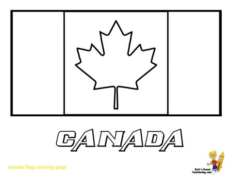- Canada Flag Coloring Page #1 Flag Coloring Pages, Coloring Pages, Holiday  Coloring Book