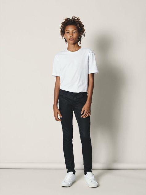 Name It Jeans Jungen Schwarz Grosse 158 Skinny Fit Jeans Jeans Fit Und Skinny