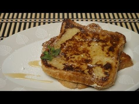 French Toast Indian Breakfast Food Recipes