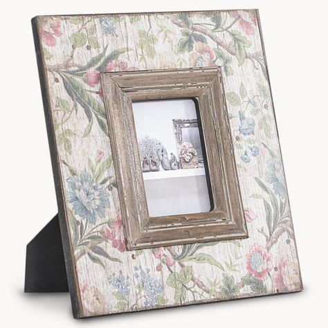 Maitland Flower Photo Frame Traditional Wedding Anniversary Gift