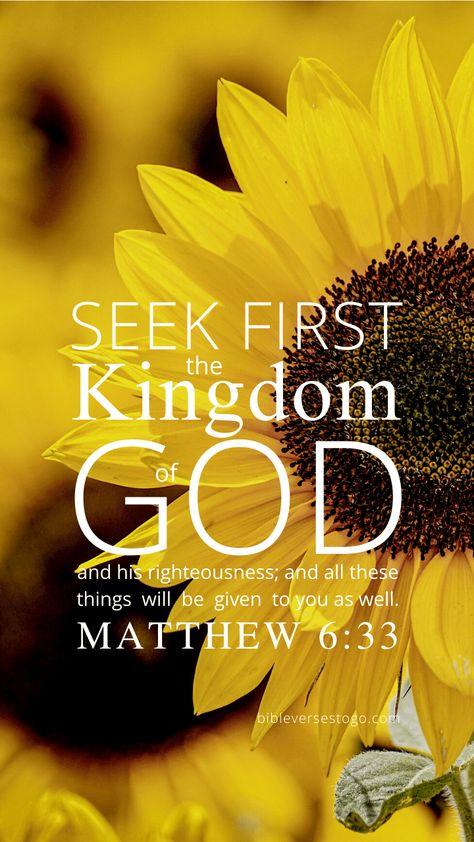 Sunflower Bible Verse Wallpaper