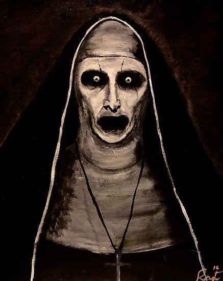 Demonic Sister Valak Photographic Print By Ryan Fisher Em 2020