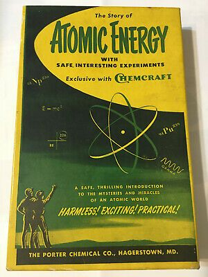 Details About Porter Chemical Chemcraft Atomic Energy Kit 100 Rare Extremely Nice W Uranium In 2020 Chemical Energy Atom