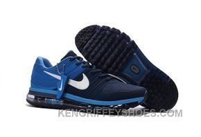 huge discount f356c c1760 Authentic Nike Air Max 2017 KPU Navy Blue White Best Kn6Kt