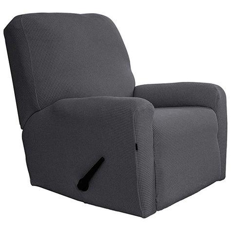 Amazon.com: Easy-Going Recliner Stretch Sofa Slipcover Sofa ...