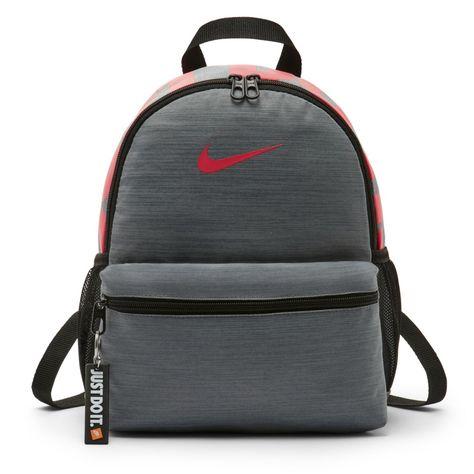 e37299c01 Nike Brasilia Just Do It Kids' Backpack (Mini) Size ONE SIZE (Cool Grey)