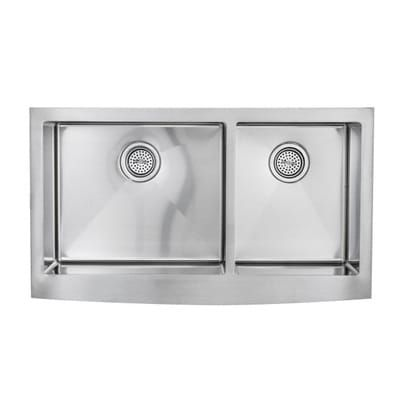 Schon All In One Farmhouse Apron Front Stainless Steel 36 In