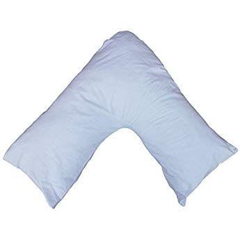 duck egg blue v pillow case