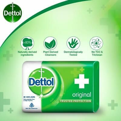 Details About Dettol Original Antibacterial Personal Protect Soap