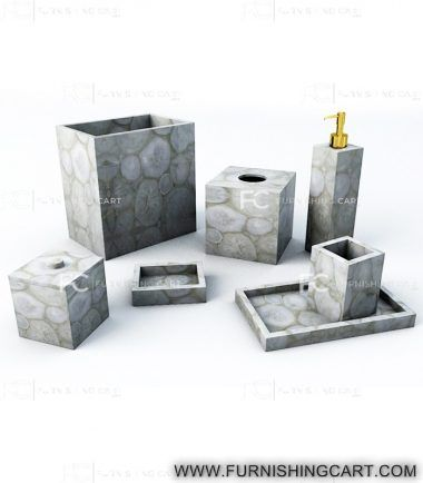 Luxury High End Bath Accessories And Bathroom Set In Precious Gemstones Small Bathroom Mirrors Small Bathroom Pictures Bathroom Design Luxury