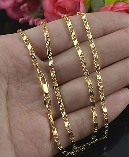 Gold Filled Jewelry Wholesale Nyc : filled, jewelry, wholesale, Genuine, Filled, Golden, Necklace, 22inch, Chain, Womens,, Chains
