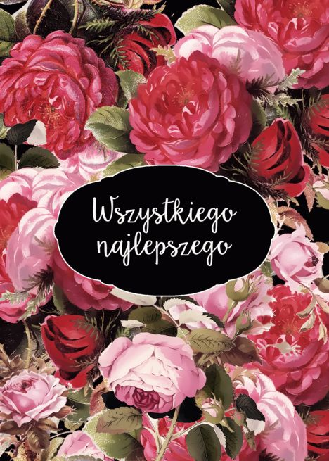 Happy Birthday In Polish Vintage Roses Card Ad Spon Polish Birthday Happy Card Vintage Roses Vintage Rose Cards Happy Birthday In Spanish