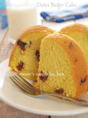Resep Butter Cake Kurma Kue Lezat Kue Bolu Mentega Makanan Manis