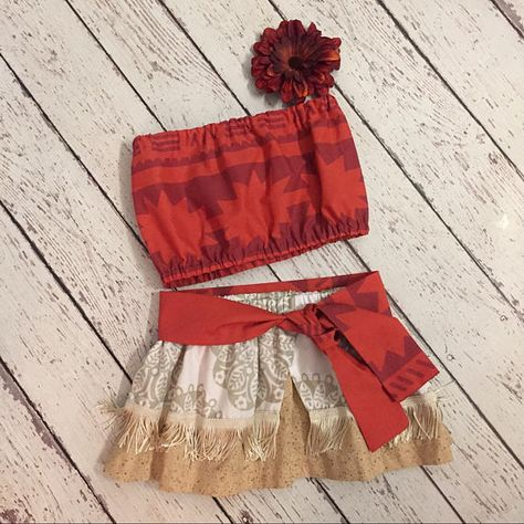 Moana Skirt and top set