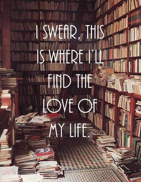 Ideal: Meeting the love of your life in a bookstore - Imgur