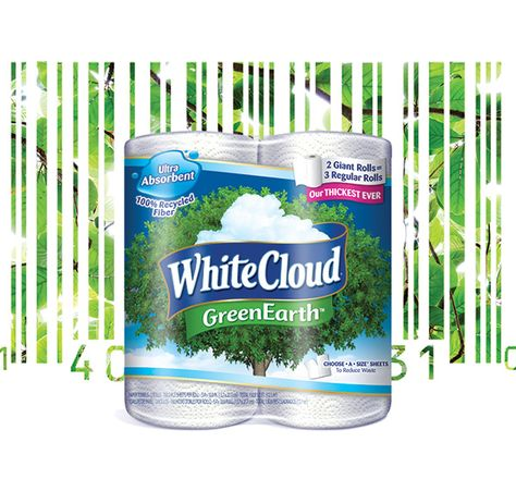 With White Cloud GreenEarth® products, you can feel good about what you bring into your home, and what you're keeping in your wallet! #LivingTheGreen