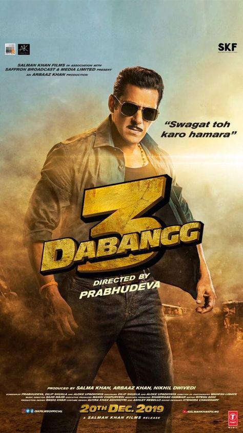 Dabangg 3 : Salman Khan shares the first motion poster of his film