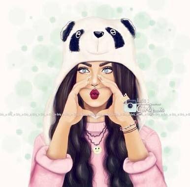 صور بنات رسم صور بنات مرسومة كارتونيه Girly M Cute Drawings Cute Girl Drawing