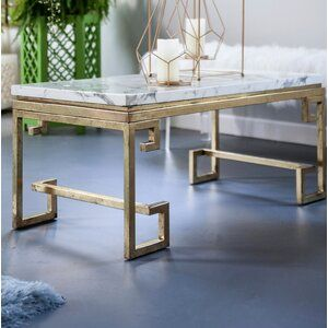 Willa Arlo Interiors Deolinda Coffee Table Fairbanks Street In 2019 Coffee Table Wayfair Table Mirrored Coffee Tables
