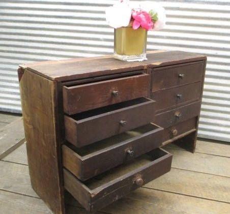 8 Wood Storage Cabinet Wood Organizer Countertop Storage