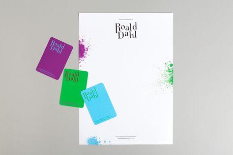 Historical Figures' Letterheads -  Roald Dahl