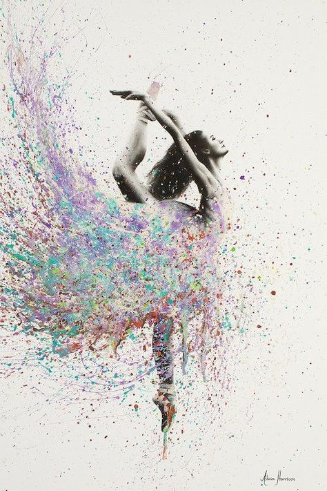 Opal Dance by Ashvin Harrison is printed with premium inks for brilliant color and then hand-stretched over museum quality stretcher bars. Money Back Guarantee AND Free Return Shipping.