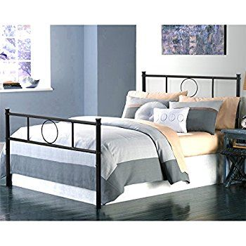 Amazon Com Green Forest Twin Bed Frame Metal Platform With Stable