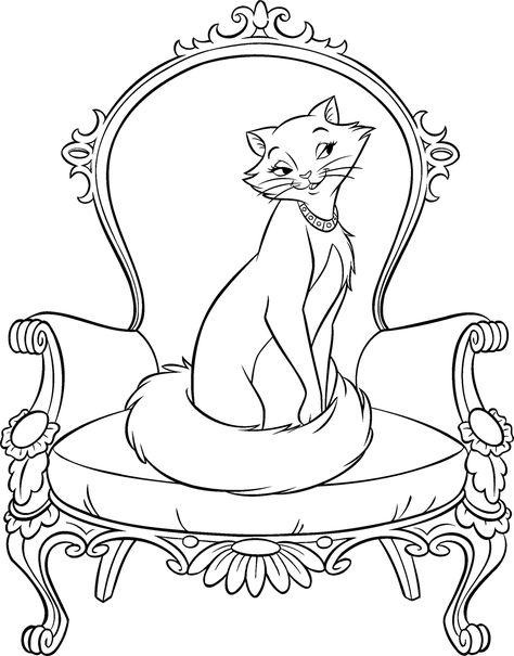 33 aristocats ausmalbilderideen  ausmalbilder ausmalen