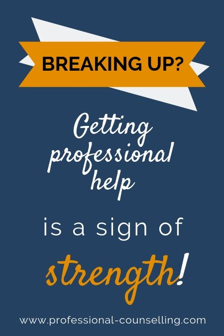 Advice during all stages of a relationship breakup  Get expert help