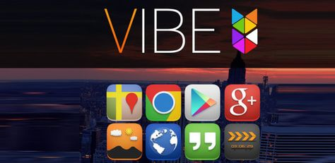 VIBE Beautifully crisp icons with an emphasis on