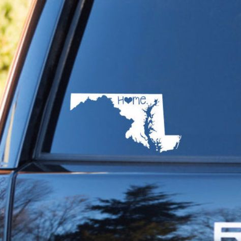Maine Home Decal Maine State Decal Homestate Decals Love - Cool car decals designpersonalized whole car stickersenglish automotive garlandtc