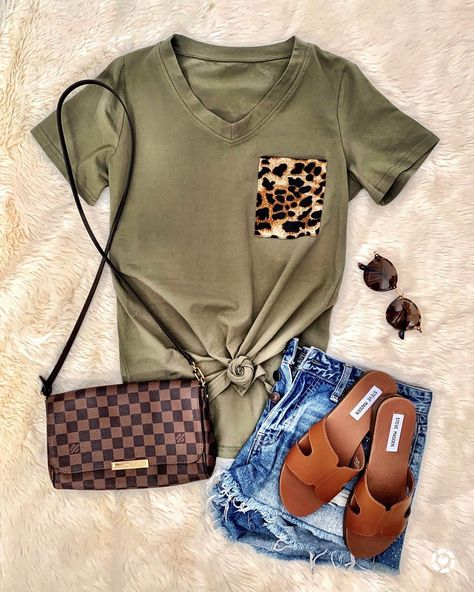 Best Casual Summer Outfits Part 22 Casual Summer Outfits, Cute Outfits, Trendy Outfits, Womens Fashion Outfits, Fashion Dresses, Girly Outfits, Cheap Fashion, Ladies Fashion, Louis Vuitton Crossbody