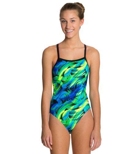 6193b7edd Dolfin Winners Siren Female V-2 Back One Piece Swimsuit   Camryn!!!!
