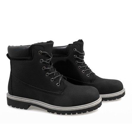 Trekkingowe Meskie Butymodne Czarne Ocieplane Trapery Vt86 1 Timberland Boots Boots Shoes