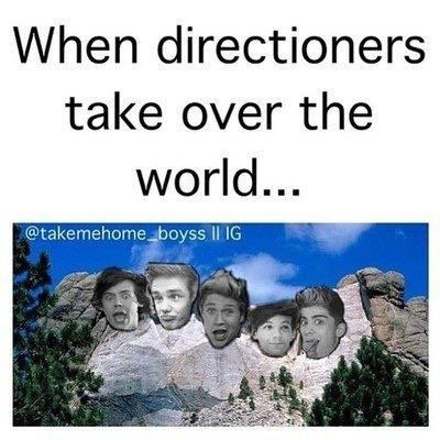 What an amazing world we would live in. lol jk one direction themselves would probably be scared out of their minds. love them<3