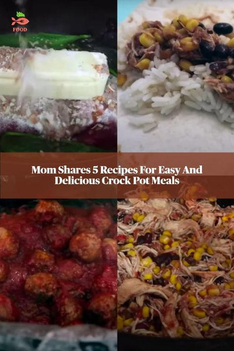 Mom Shares 5 Recipes For Easy And Delicious Crock Pot Meals
