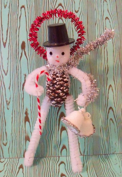 Merry Kitschmas / Snowman / Holiday Ornament /