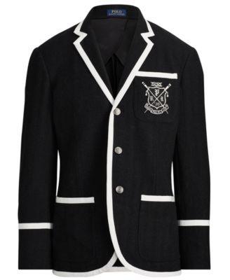 Polo Ralph Lauren Men S Knit Blazer Black Xxl Polo Ralph Lauren Mens Men S Knit Knit Blazer